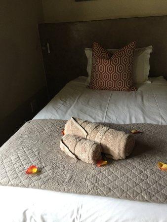 Senalala Luxury Safari Camp: Beds are great!