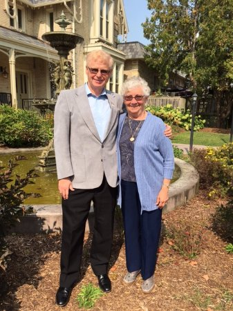 Ingersoll, Canada: Our 50th wedding anniversary lunch at the Elm Hurst