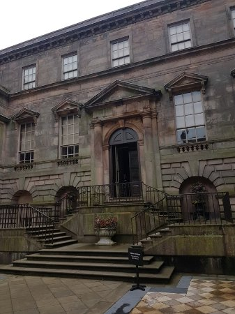 Lyme Park: Entrance to the House