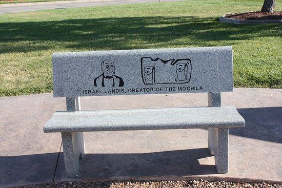 Sidney, NE: informative bench