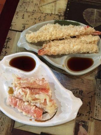 Egg Harbor Township, NJ: tempura shrimp and crab stick