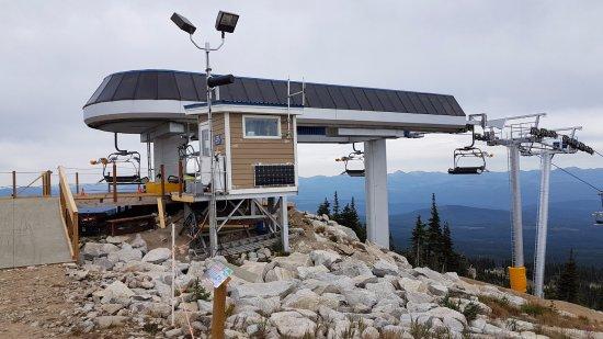 Big White Ski Resort in summer
