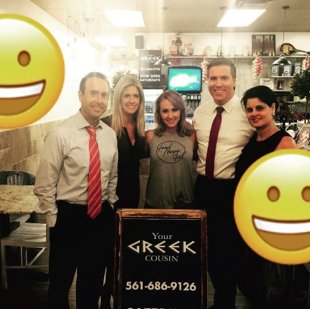 Your Greek Cousin The Cbs 12 News Channel Crew Stopped By