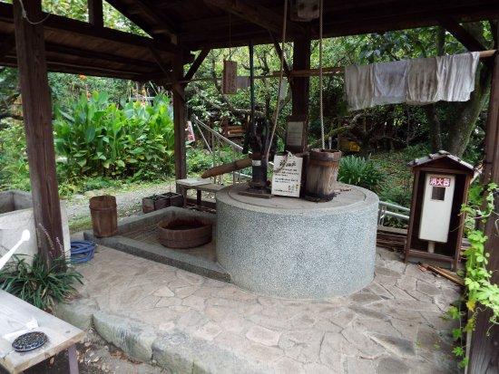 Kaisei-machi, Japón: 古い井戸も昔の名残を・・・。