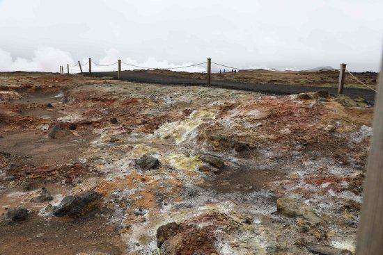 Grindavík, Islandia: Interessante Farben