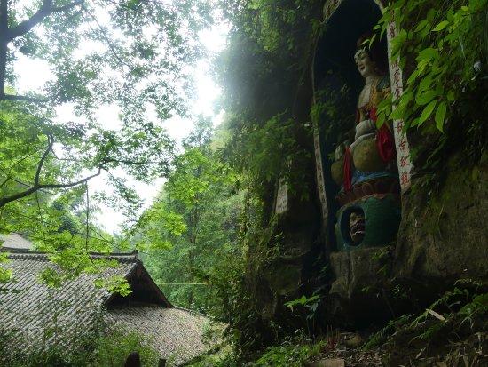 Qionglai, China: The Jinhua moutain 金华佛山