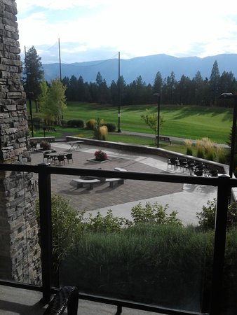 Invermere, Canada: View of patio