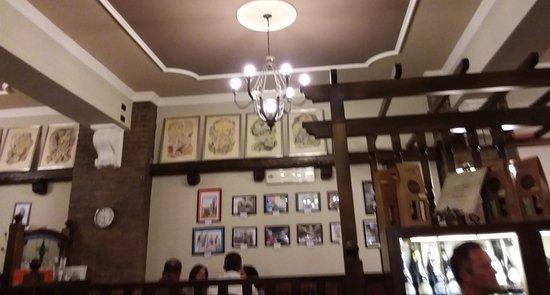 Occhiobello, Italia: Interno pizzeria Pacero