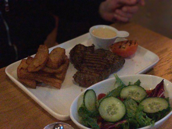 Walkden, UK: Fantastic meal tonight at Fifth Steakhouse. Fantastic food. Well presented.
