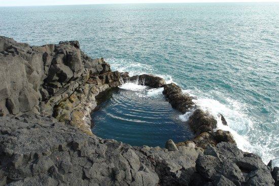Grindavik, IJsland: Der Pool, um den es mal ging