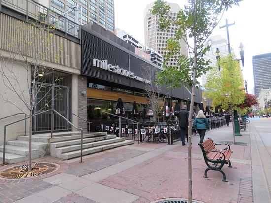 Milestones: Stephen Avenue / 8 Avenue Entrance
