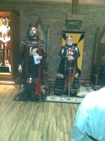 Medieval Times Maryland Castle: The knighting ceremony