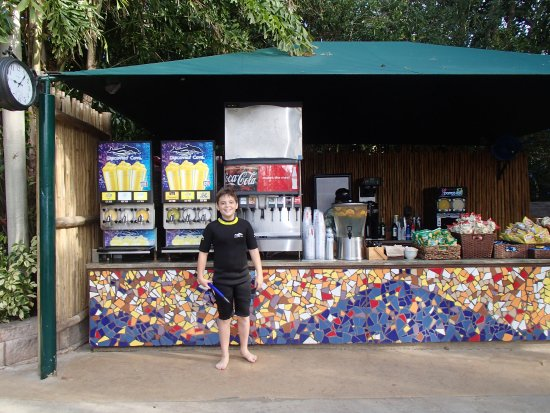 Cabo Discovery: snack and drink stand