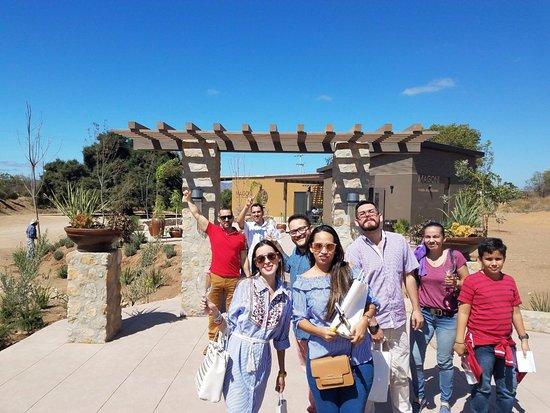 Valle de Guadalupe, México: Casa Magoni