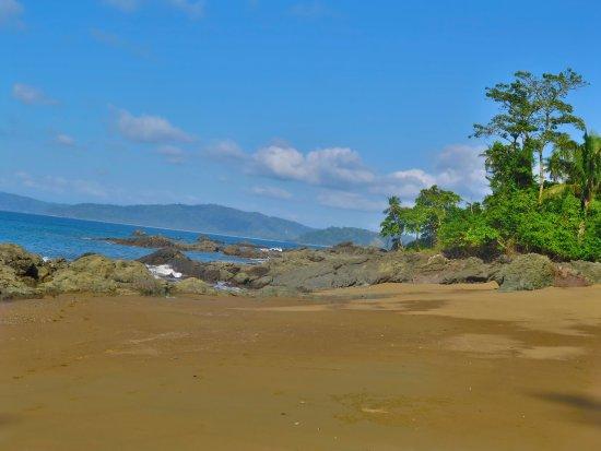 Carate, Κόστα Ρίκα: Bahía Drake es una de los lugares de acceso al Parque Nacional Corcovado