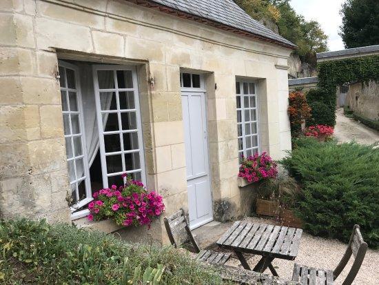 Nazelles-Negron, Frankreich: The pavillon Marie-Louise room