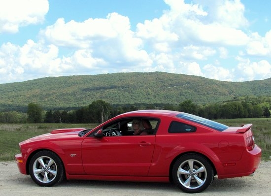 Scenic view at Pilot Knob, Mo. 06 GT Mustang.. By Carl H. =P~
