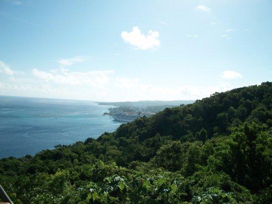 Jamaica: View from sky explorer