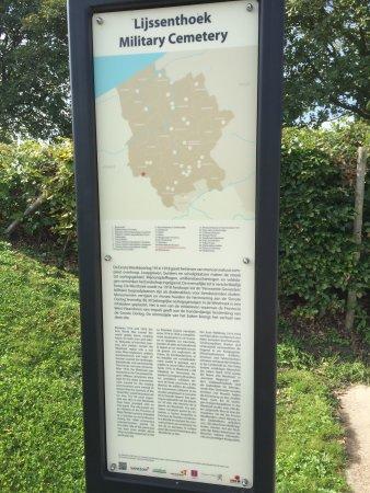 Poperinge, Belgia: Information board.
