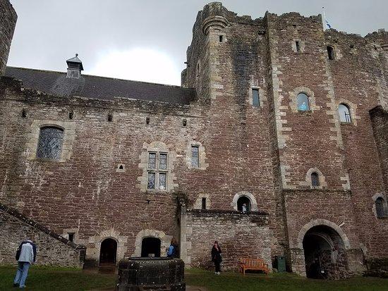Courtyard at Doune Castle