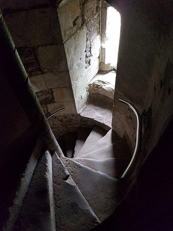 Doune, UK: Spiral Staircase