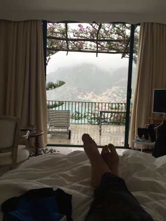 Il San Pietro di Positano: Loved looking at town from our room.