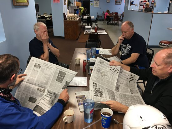 Sisseton, Dakota del Sur: newspaper to read while waiting