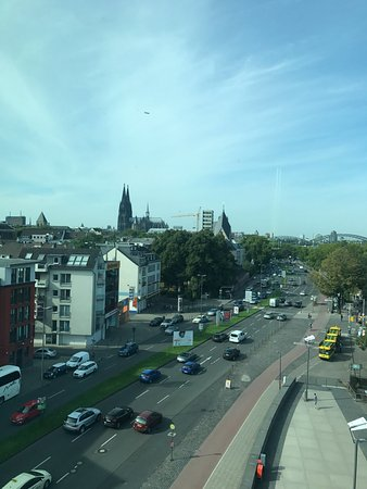 art'otel cologne: cathedral from room
