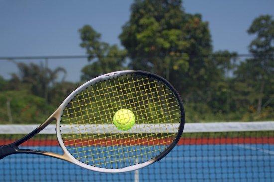 Uyo, Nigeria: TENNIS COURT