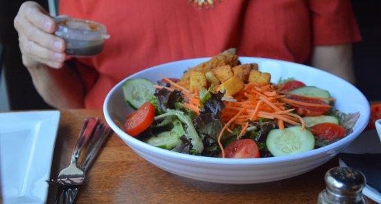 Cornelius, NC: Salad with Crab Cake Protein