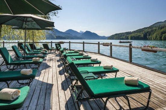Hof bei Salzburg, Austria: Badesteg - Yetty