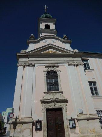 Spitalskirche mit Haydnorgel