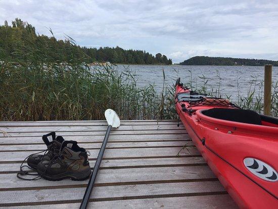 Härnösand, Svezia: Returned to the dock