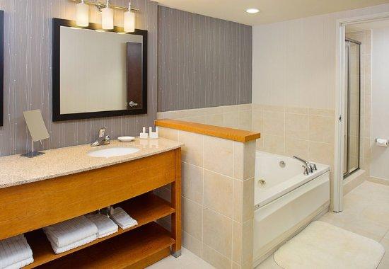 Montvale, نيو جيرسي: King Suite Bathroom