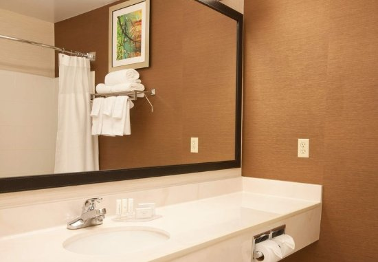 The Woodlands, TX: Guest Bathroom