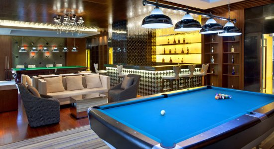 Taicang, China: Billiard Room