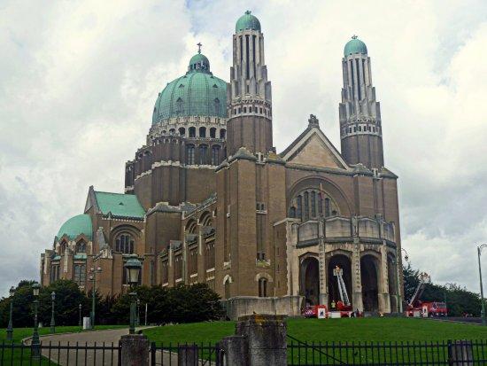 Koekelberg, Bélgica: Basílica del Sagrado Corazón de Bruselas