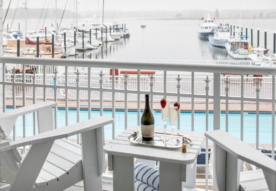 New Castle, Νιού Χάμσαϊρ: One-Bedroom Marina Suite - Balcony