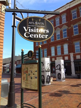 ACVB Visitor Center: Underground Atlanta