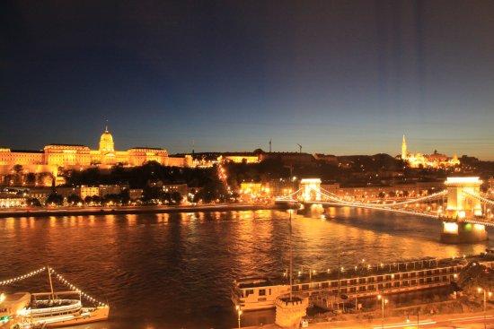 Sofitel Budapest Chain Bridge: 部屋の窓越しの眺め
