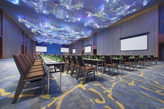 Lingshui County, Cina: Ballroom Classroom Style
