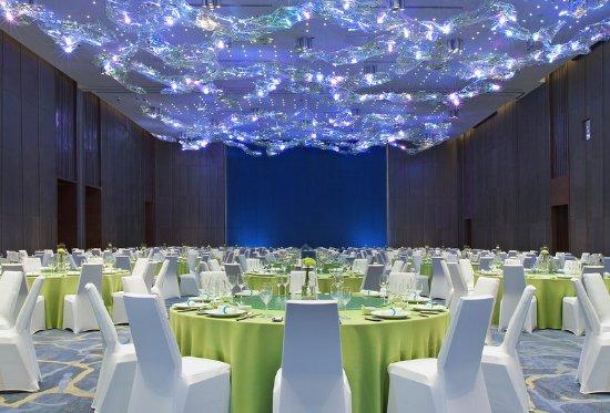 Lingshui County, Cina: Ballroom Banquet Style