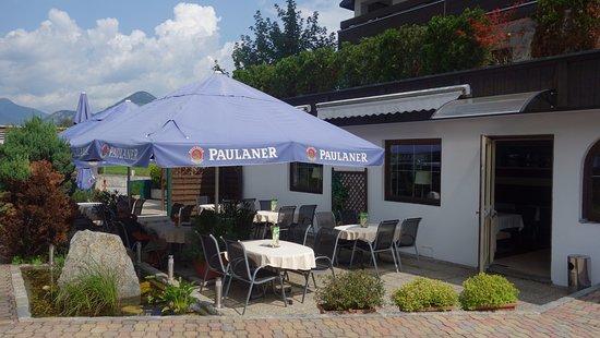Fugen, Austria: terras