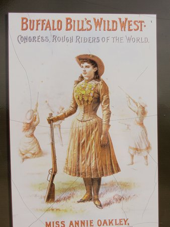 Annie Oakley was a sharpshooter by age 15