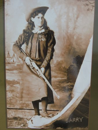 Historic photo of Annie Oakley
