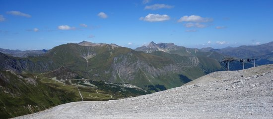 Zillertaler Gletscherbahn: uitzicht