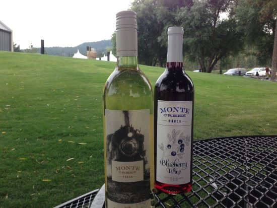 Kamloops, Canada: Two very pleasant wines for a special occasion in the not too distant future