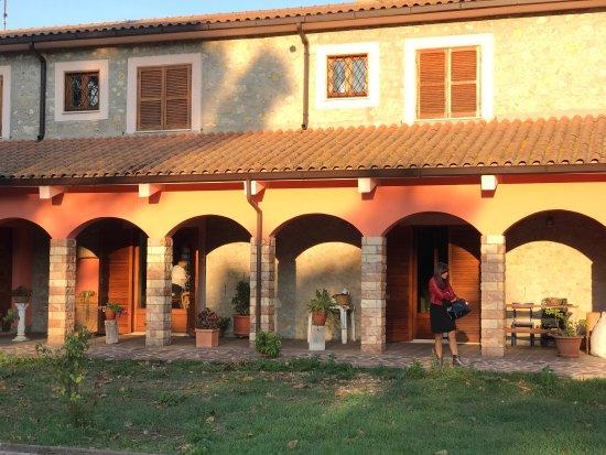 Roccantica, Italia: Agriturismo San Lorenzo