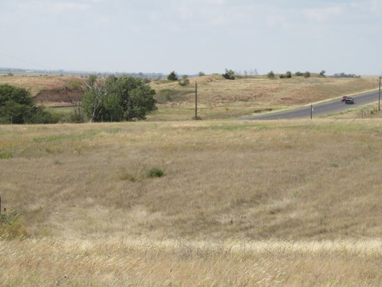Dodge City, KS: Ruts from the original Santa Fe Trail, adjacent to the new paved trail