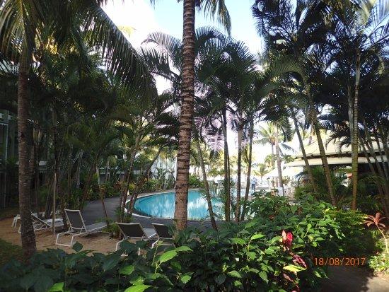 Veranda Grand Baie Hotel & Spa : La première piscine